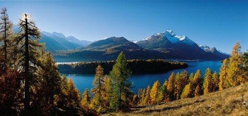 Imponente naturaleza en Oto�o en Suiza