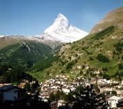 Zermatt en verano - el Matterhorn en Suiza